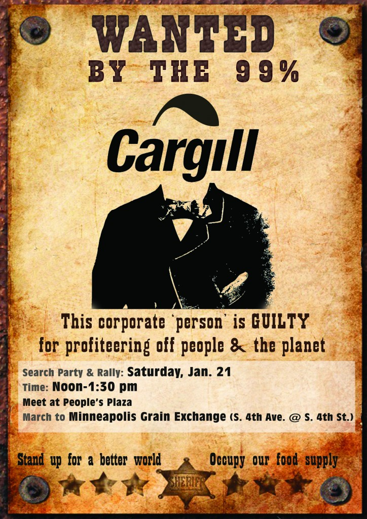 Wanted: Mr. Cargill