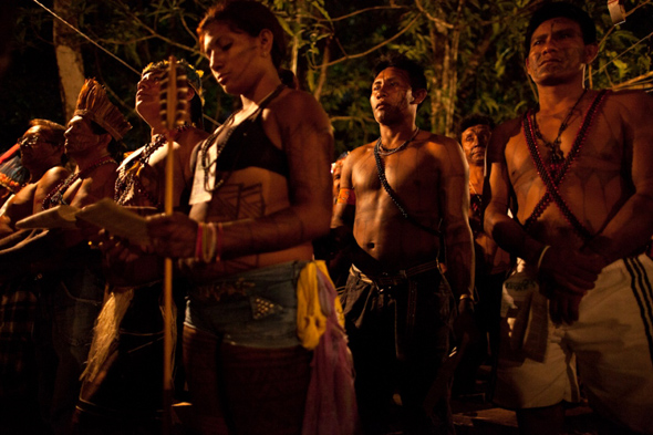 Indigenous people threatened by Belo Monte