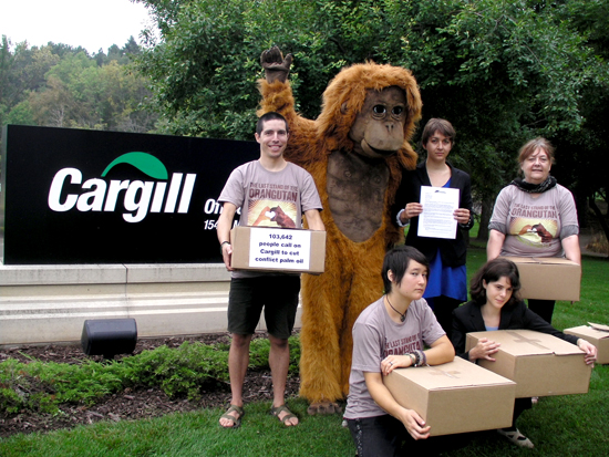 Cargill petition delivery
