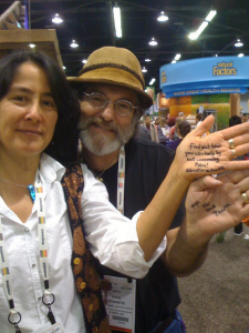 Paul Stamets and wife Dusty Yao take a stand against Conflict Palm Oil.