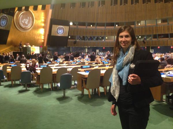 Lindsey Allen at UN Climate Summit