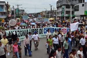 Chevron Protest, Lago Agrio Ecuador