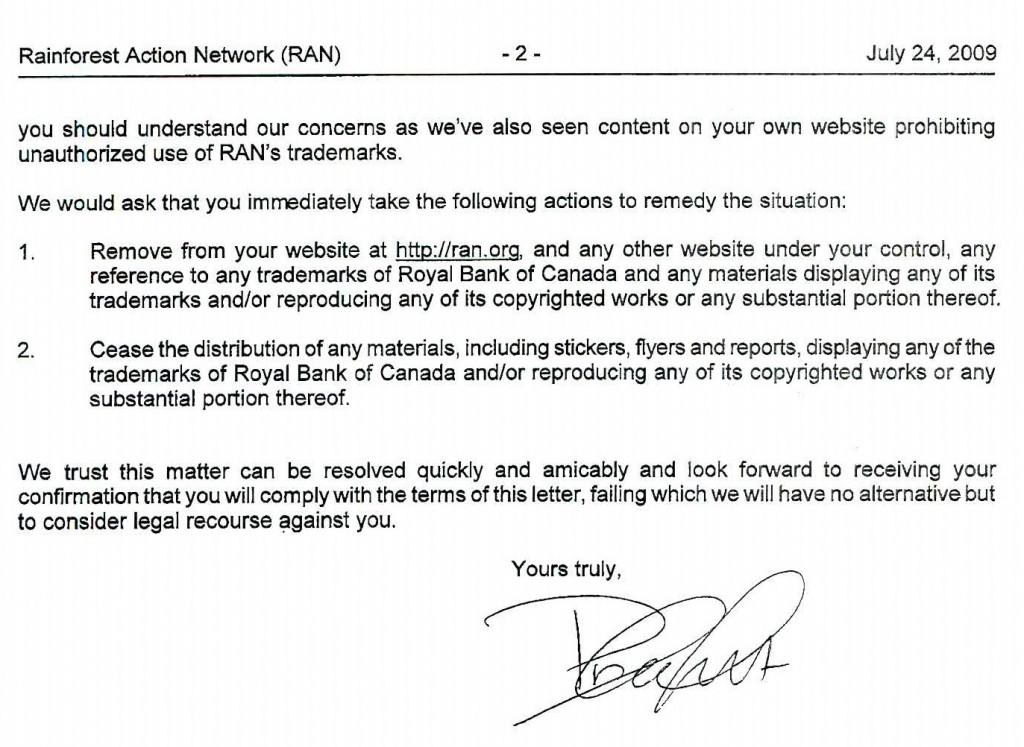RBC letter page 2