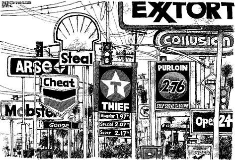 Gas Price Cartoon