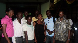 RAN Ghana representatives at the Climate  Change Forum