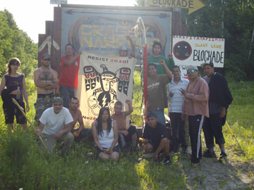 Grassy Narrows youth June 09