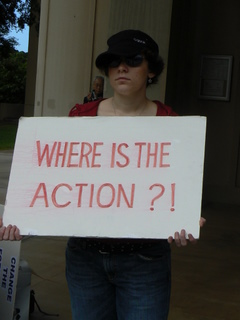 where is the action?
