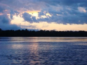 Sunrise on the Xingu River