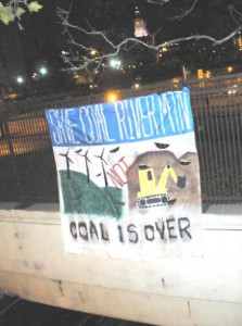 Philly Banner Drop - Coal River