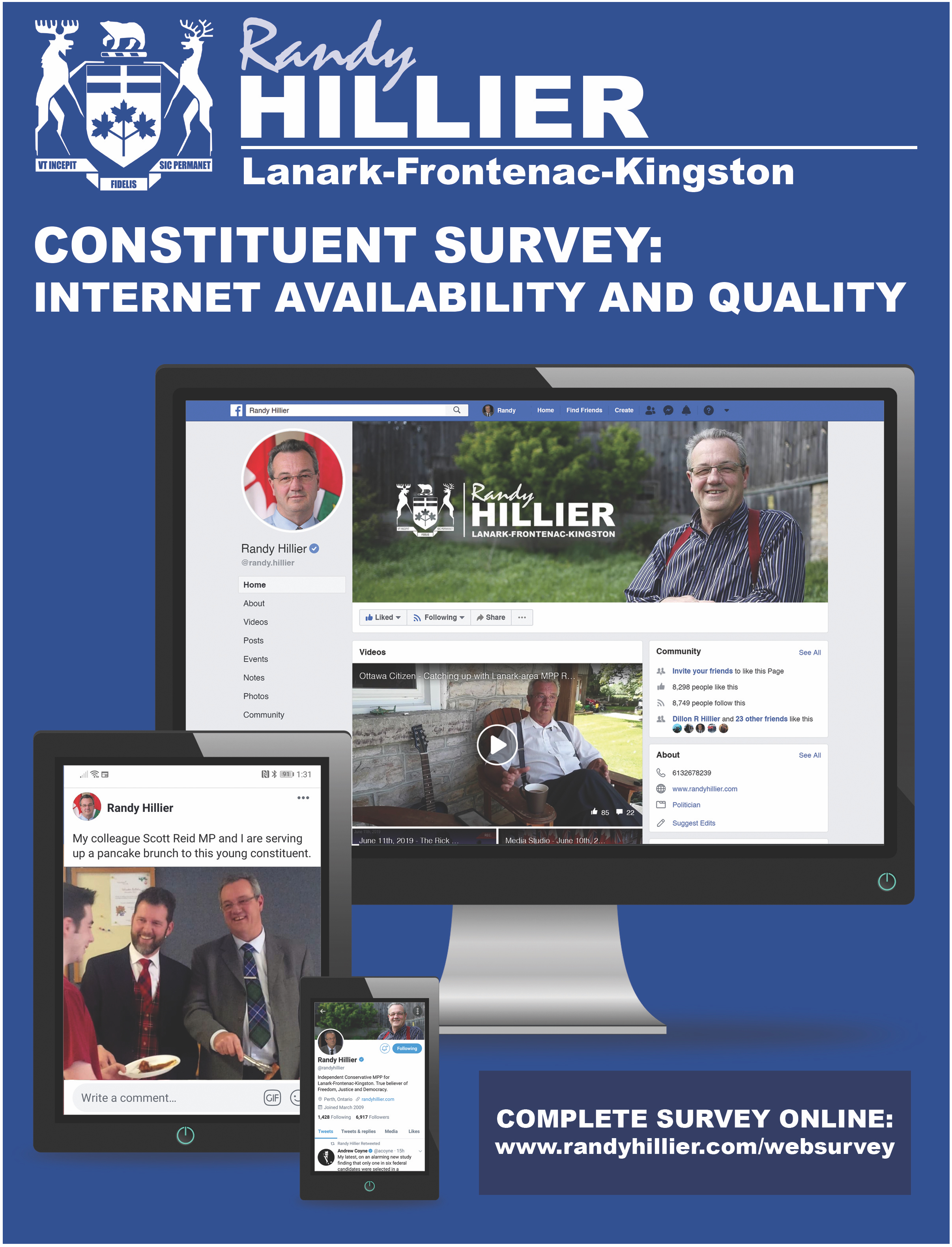 Internet Availability and Quality Survey
