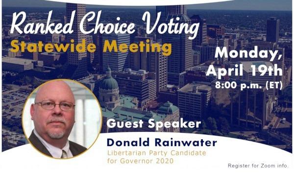 Donald Rainwater - Ranked Choice Voting Meeting