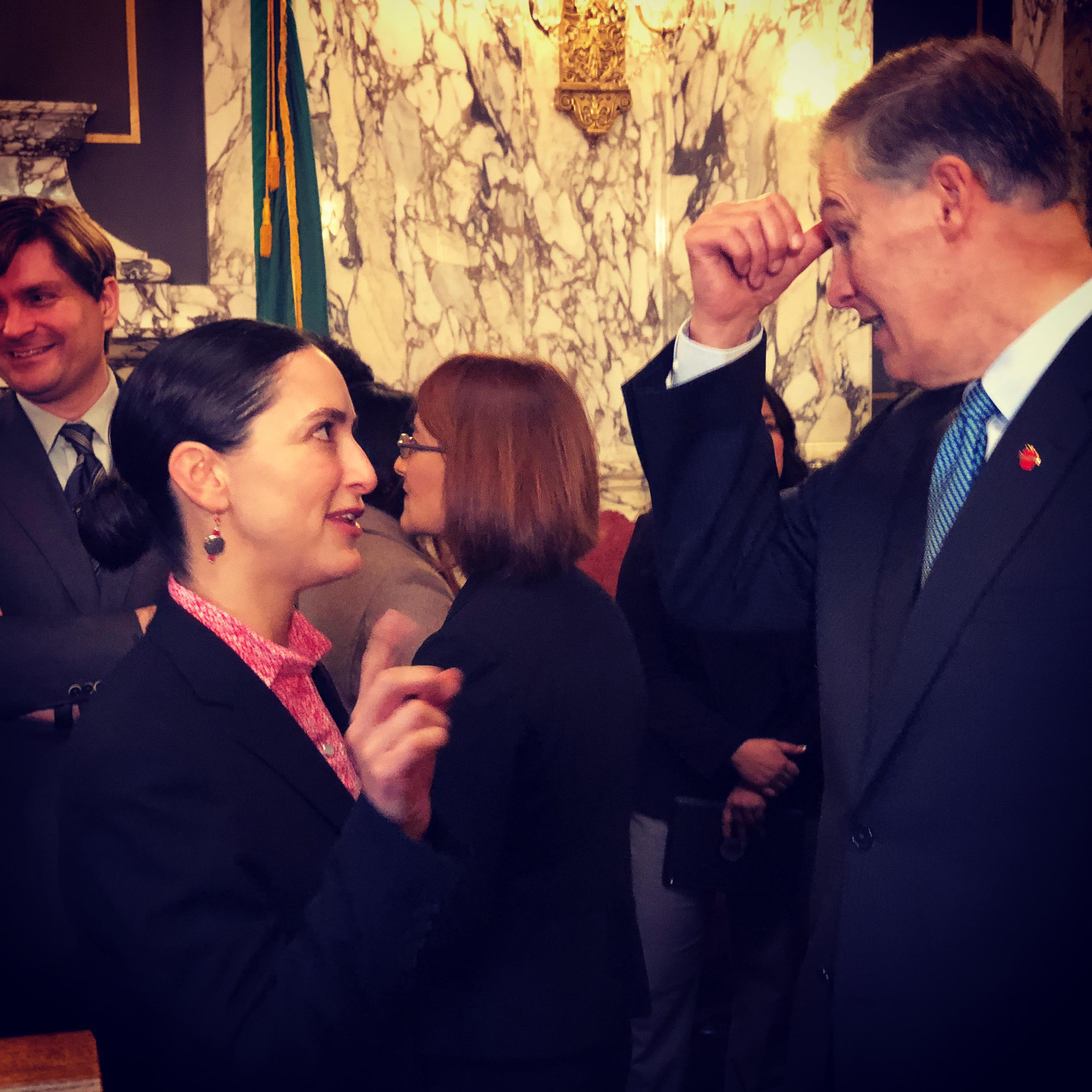 Senator_Saldaña_with_Governor_Inslee