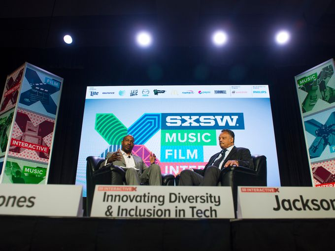Van Jones Rev. Jesse Jackson sxsw