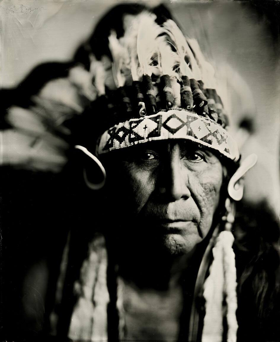 Arvol_Looking_Horse__chief_of_the_Great_Sioux_Nation__19th_generation_holder_of_the_Sacred_White_Buffalo_Calf_Pipe__April_9__2017_-_wet_plate_taken_by_Shane_Balkowitsch.jpg