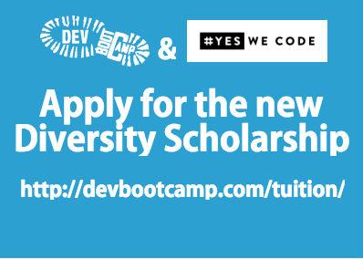 yeswecode dev bootcamp scholarship
