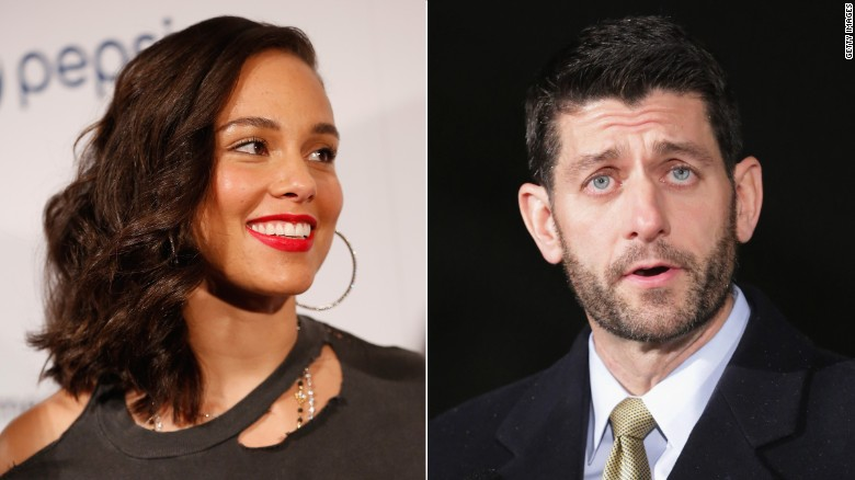 Alicia Keys to Paul Ryan: Show Love & Compassion, Schedule a Vote for Justice Reform
