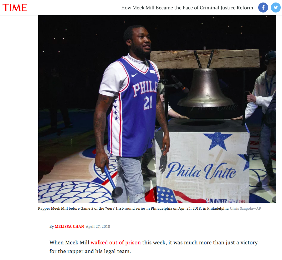 TIME.com - How Meek Mill Became the Face of Criminal Justice Reform