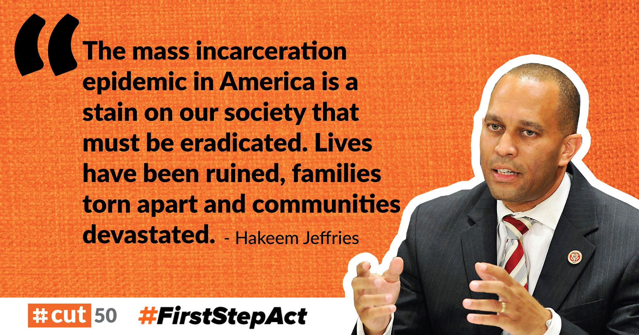 Hakeem Jeffries Supports the First Step Act