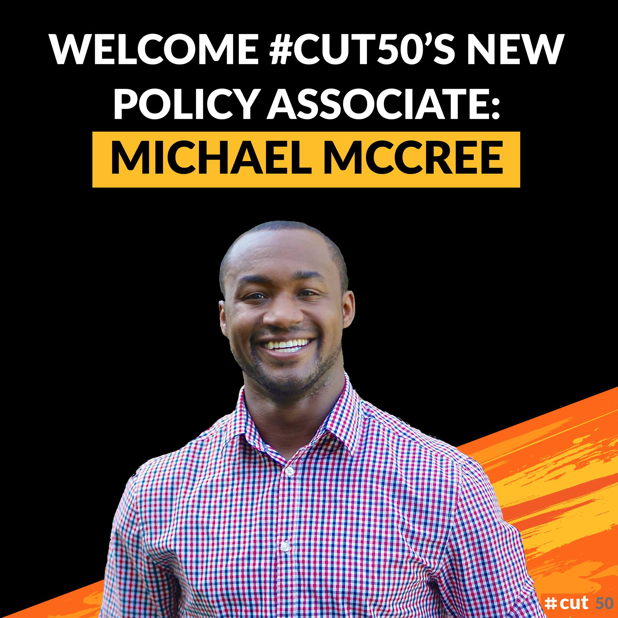 Introducing Our New Policy Associate Michael McCree