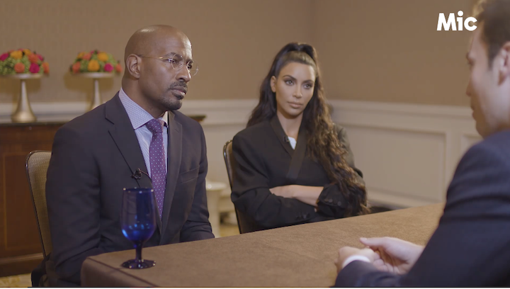Mic.com Sits down with Kim Kardashian West and Van Jones