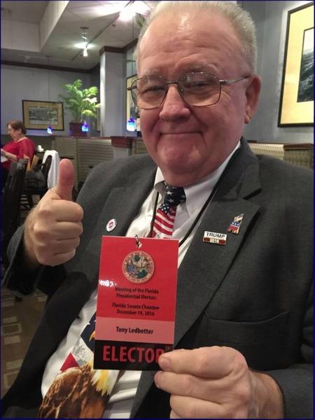 Tony Ledbetter Florida Elector 2016