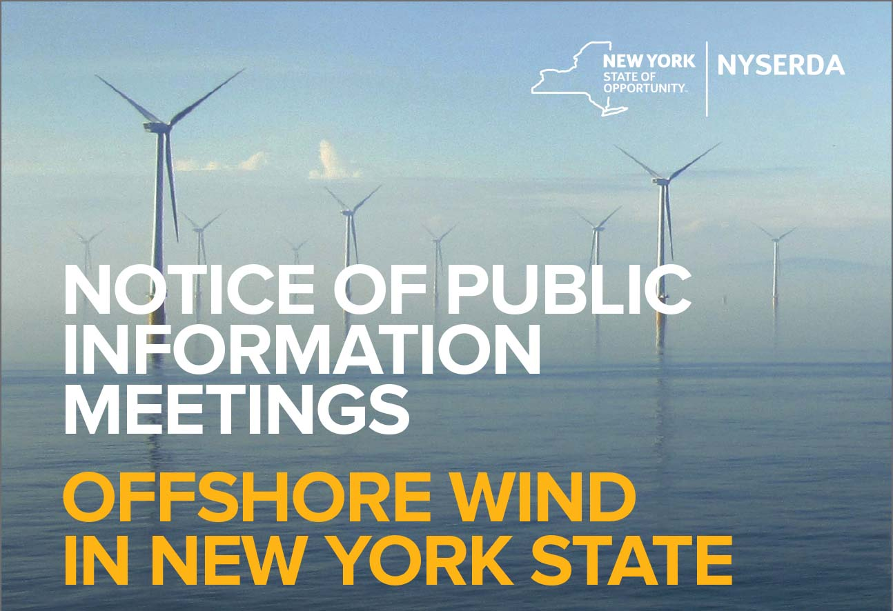 NYSERDA Offshore Wind Meetings Long Island
