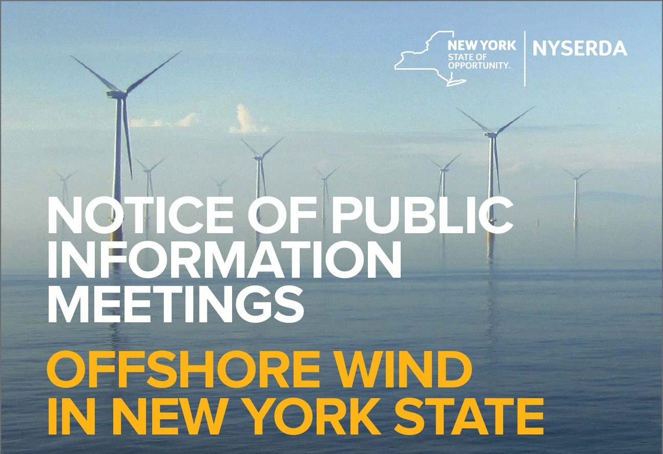 NYSERDA Offshore Wind Meetings Long Island