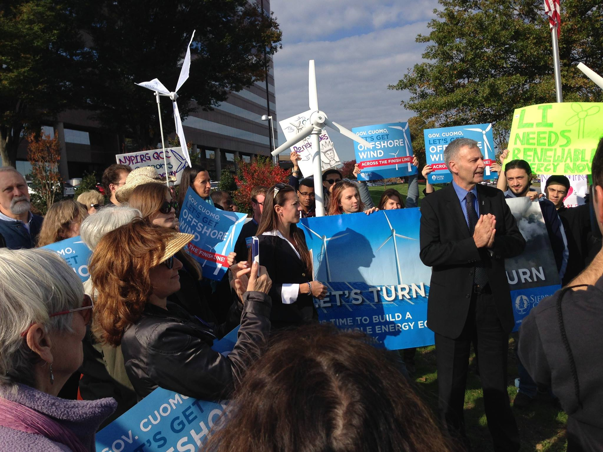 Offshore Wind Rally At LIPA Oct. 2014