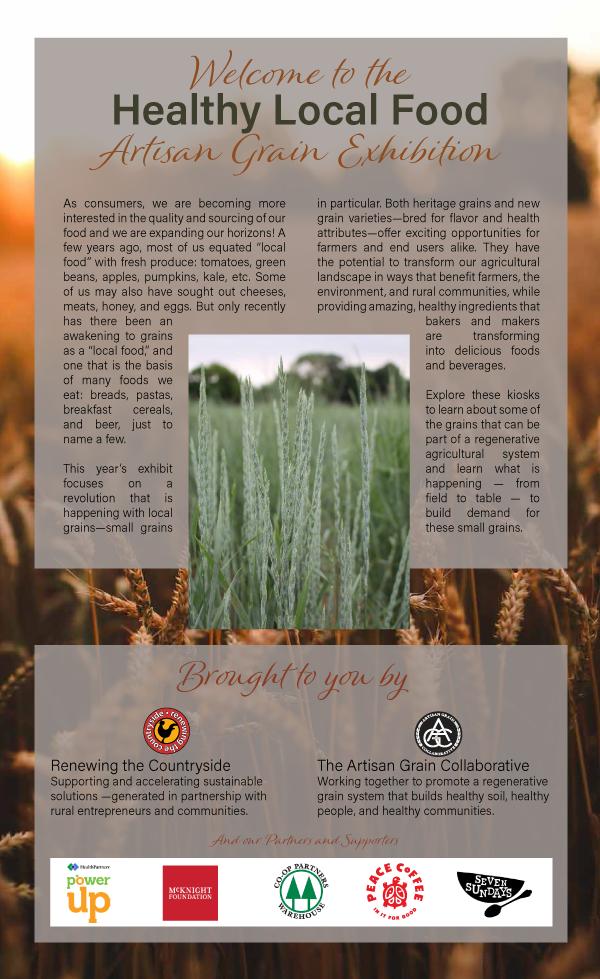 Artisan Grains Exhibition thumbnail