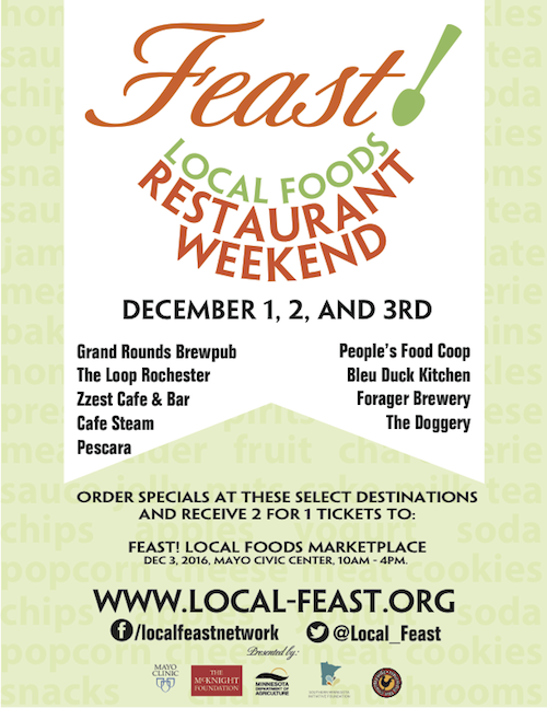 Restaurant Weekend Poster - thumbnail of PDF