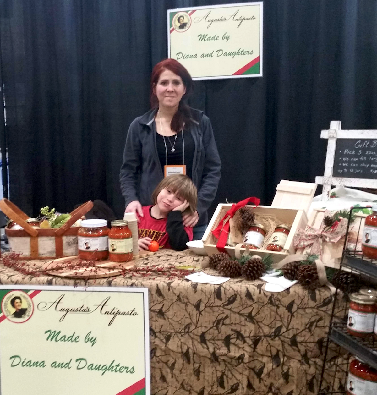Diana & Daughters booth at FEAST! 2017