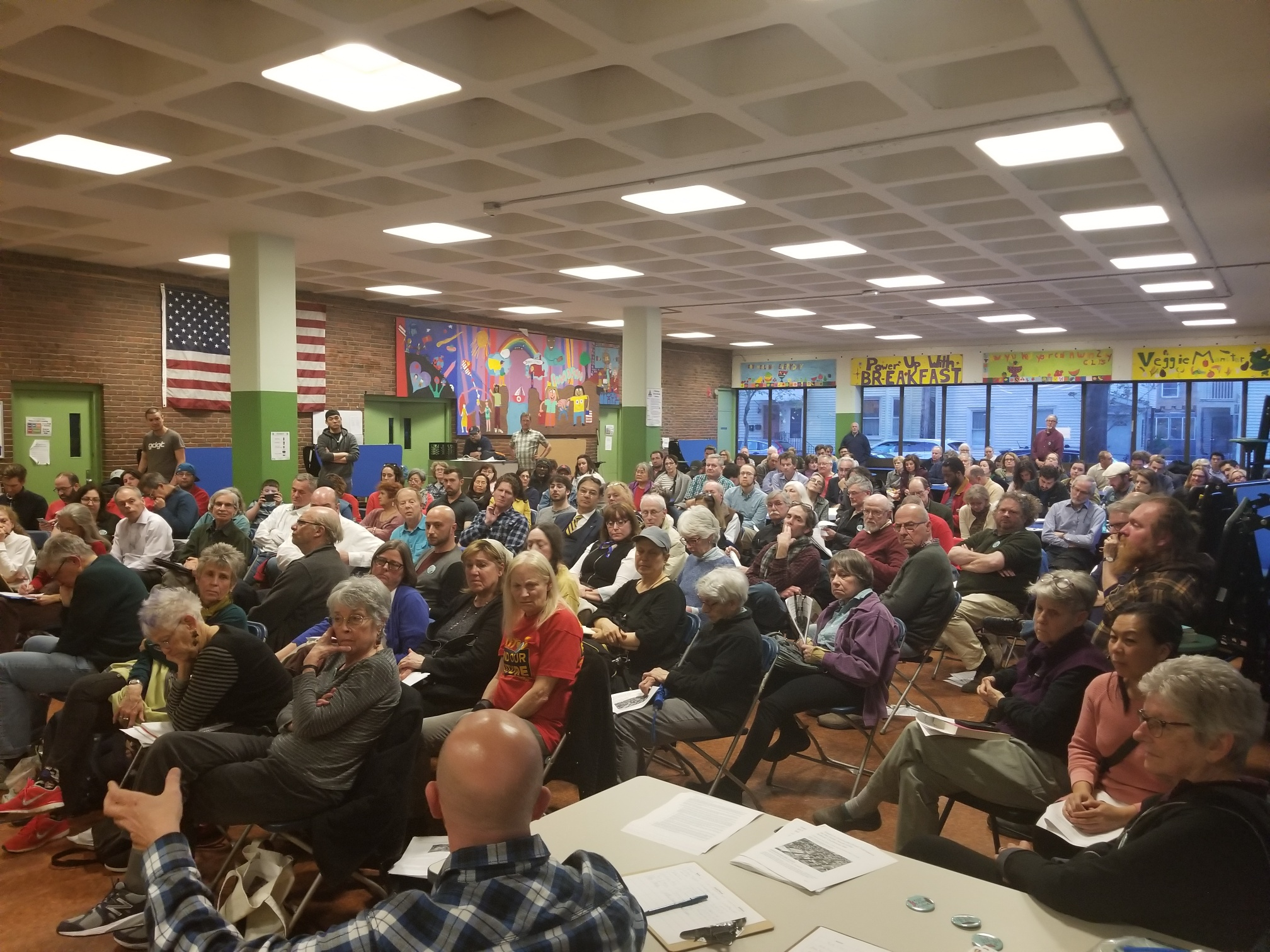 Over 125 residents attend Sullivan Courthouse Town Hall Meeting