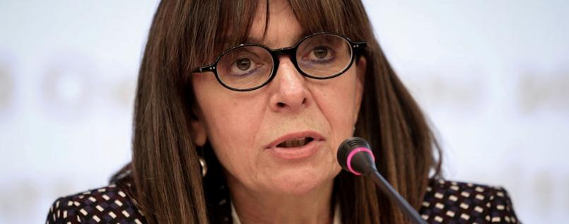 Katerina Sakellaropoulou, President of Greece