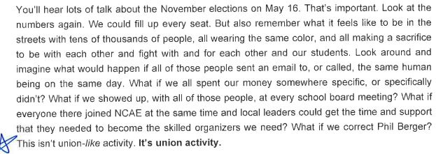 Southern Vision Alliance - Organize 2020 - leaked email 2