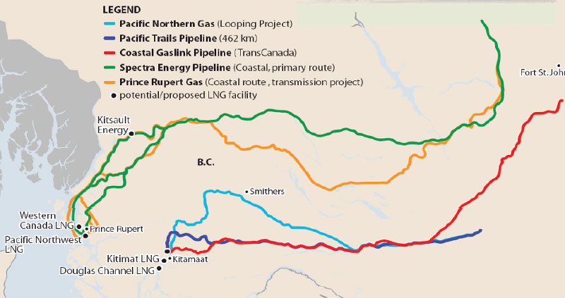 B C  First Nations Eyeing Massive Cash Windfall from LNG Projects