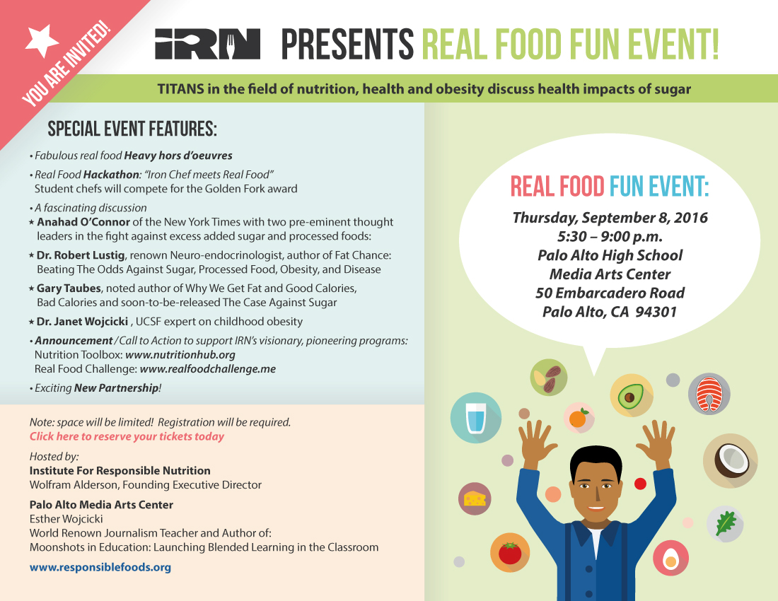 Real Food Fun Event