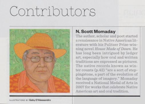 Smithsonian Magazine Contributor Momaday