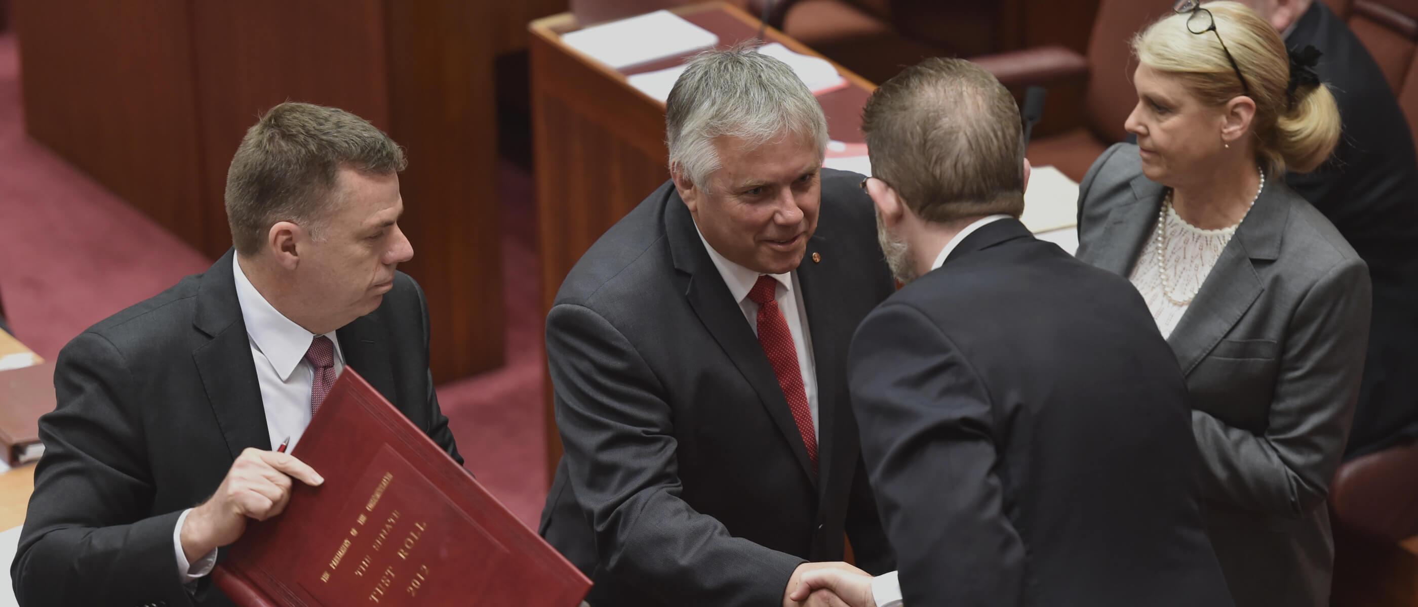 Rex in the Senate