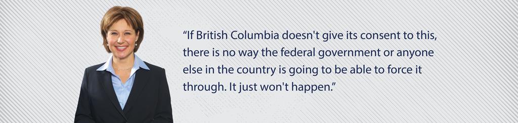 BC Premier Christy Clark