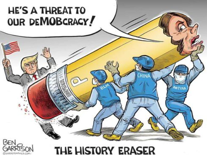 Garrison Cartoon