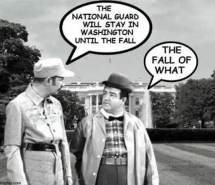 Guard in DC Cartoon