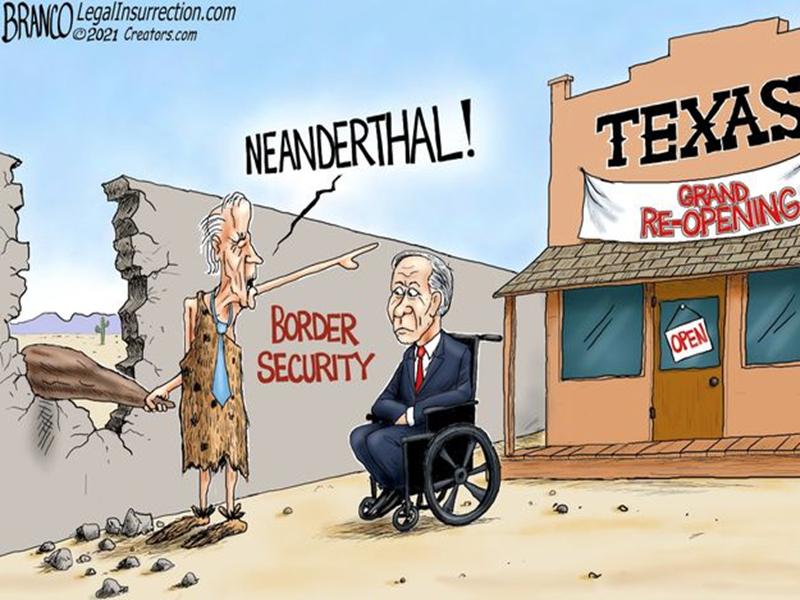 Biden and Texas