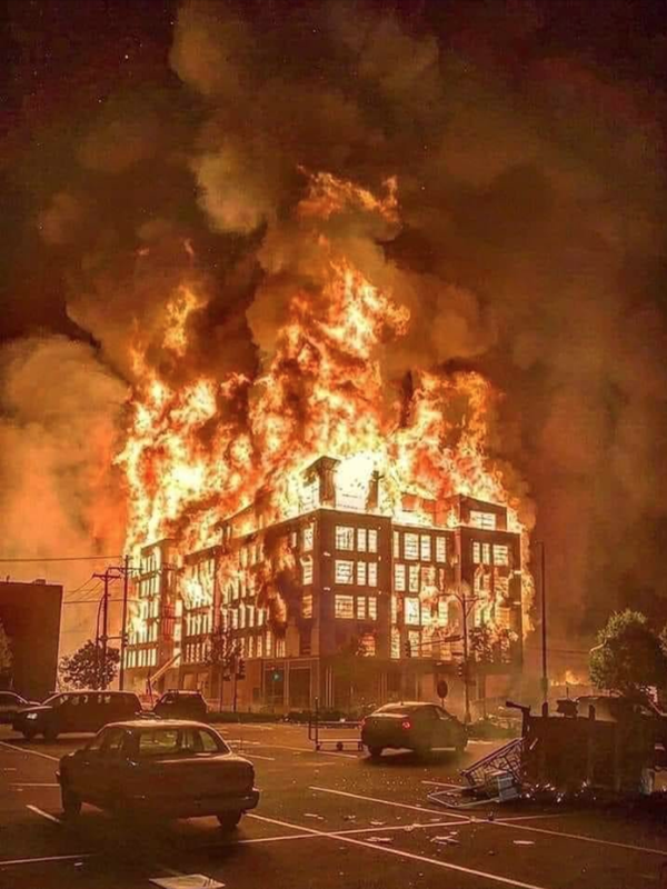 Burn Minneapolis