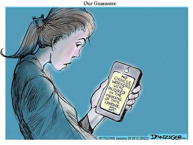 iPhone Cartoon