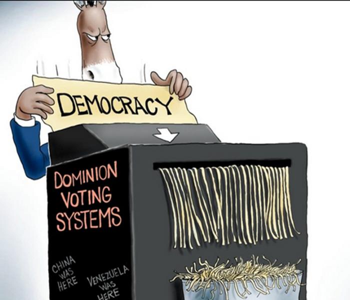 Dominion Branco Cartoon