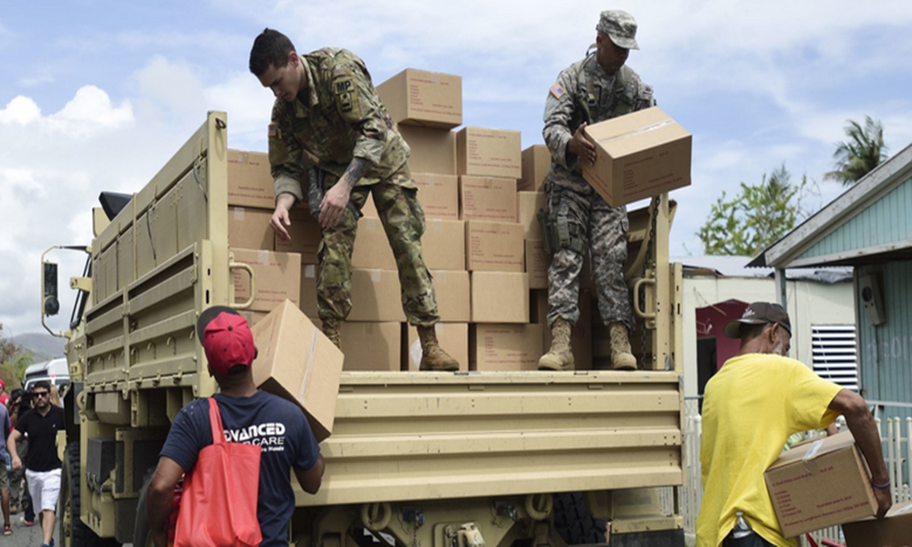 US Aid to Puerto Rico
