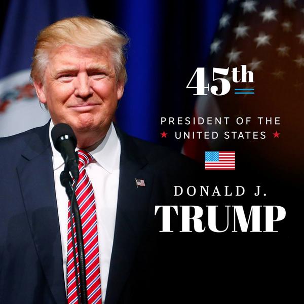 President Trump at Davos