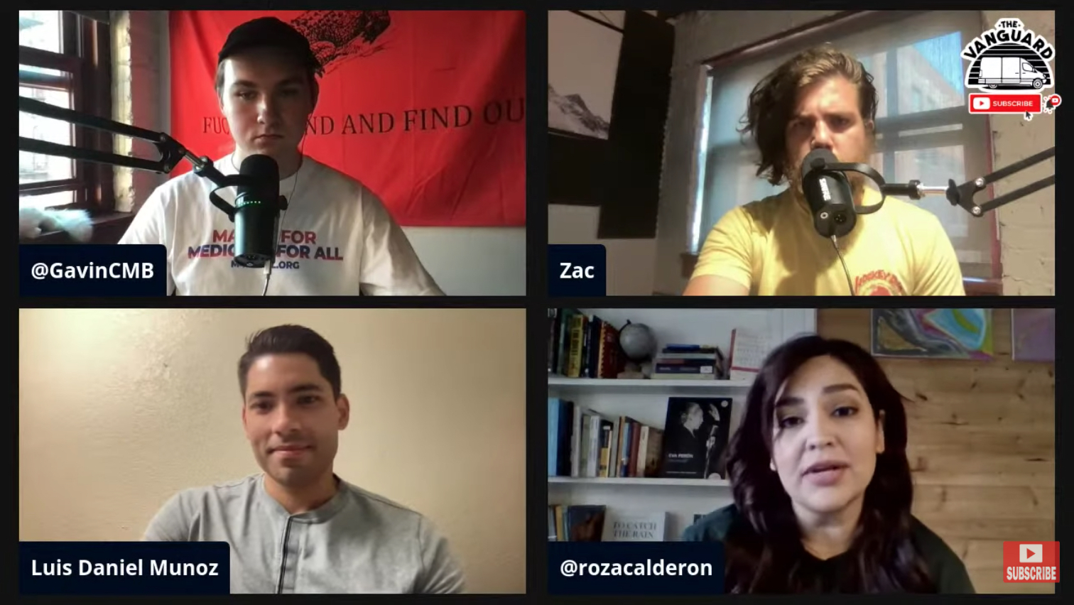 Dr. Muñoz chats with Vanguard Podcast and Future Generations
