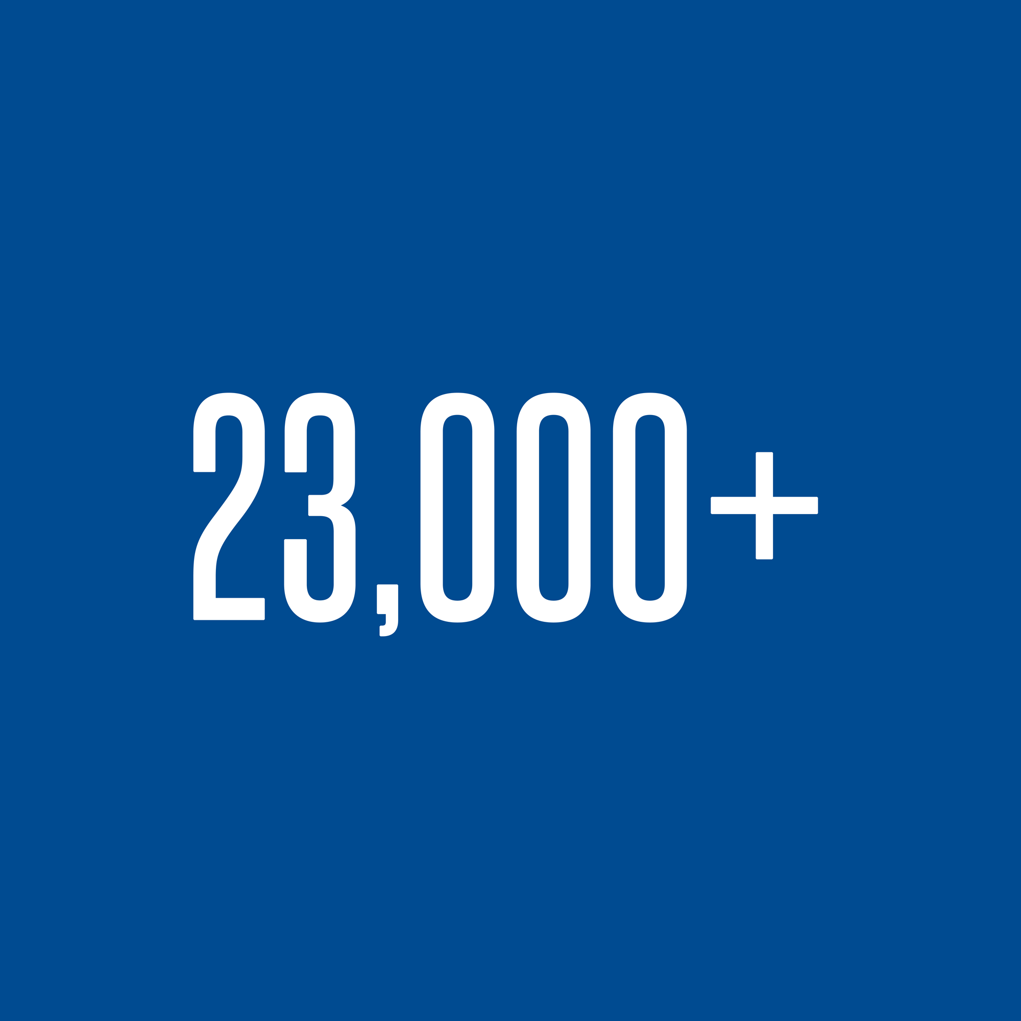 23,000+