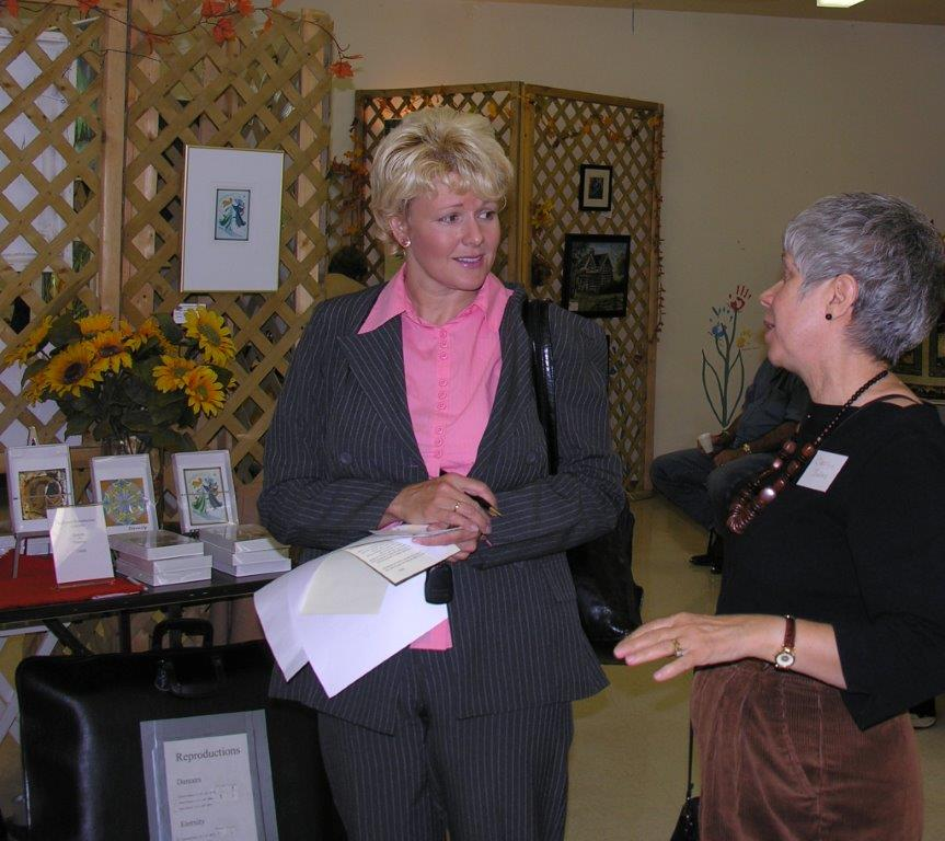 Carolyn Jakes, President of the Calabogie and Area Business Associat